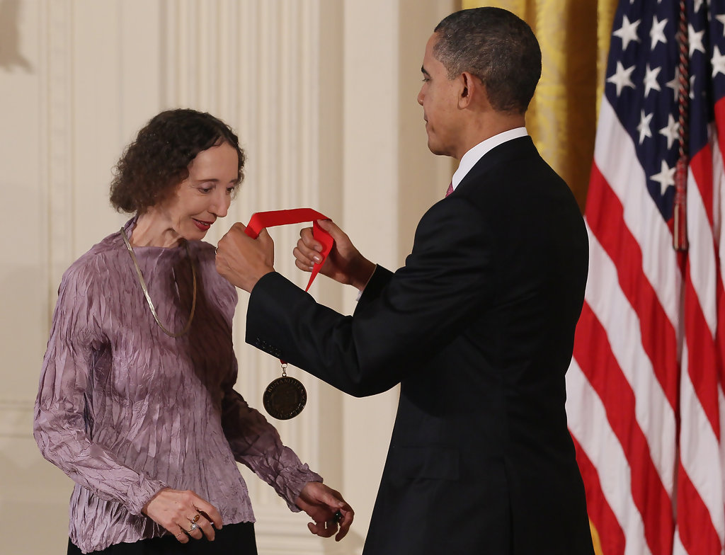 president obama awards national humanities medal to joyce carol president obama awards national humanities medal to joyce carol oates celestial timepiece