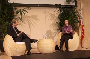 Joyce Carol Oates and Michael Krasny