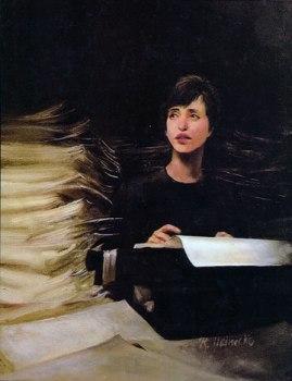 Painting by Renée Heinecke