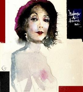 Joyce Carol Oates/portrait/La Stampa