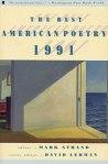 best american poetry 1991
