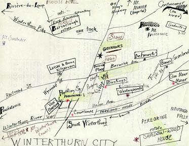 Map of Winterthurn City