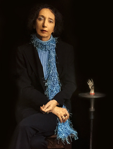 Joyce Carol Oates by Gregory Heisler