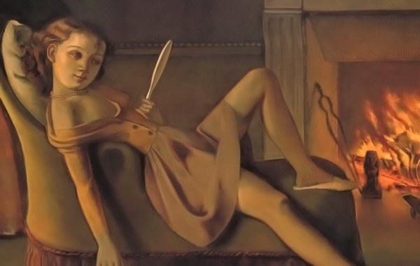 Les Beaux Jours by Balthus